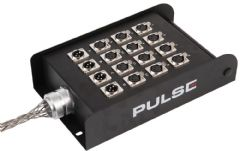 PULSE PSG01425  16 Way (12/4) Loaded Xlr Stage Box